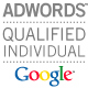 Cogentis had two Qualified Google Adwords Advertising Professional Individuals as at 15.02.2005